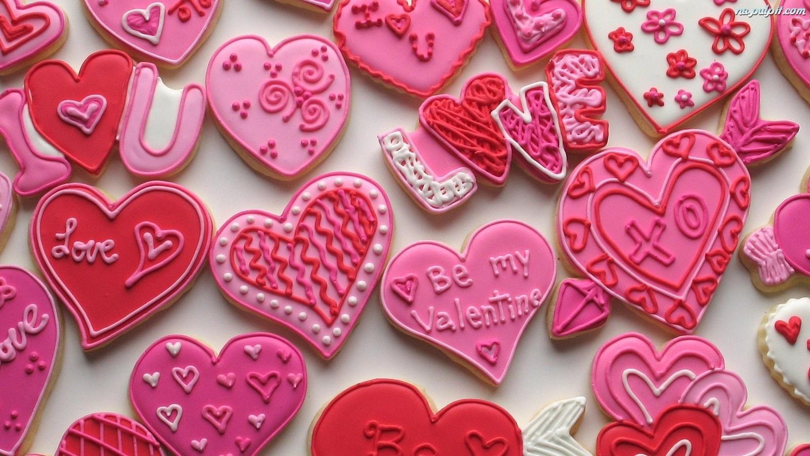 Ciasteczka Serduszka Walentynkowe Na Pulpit